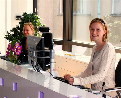 medical office front desk jobs receptionist wikipedia