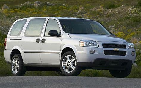 Chevrolet Minivans by Maintenance Schedule For 2007 Chevrolet Uplander Openbay