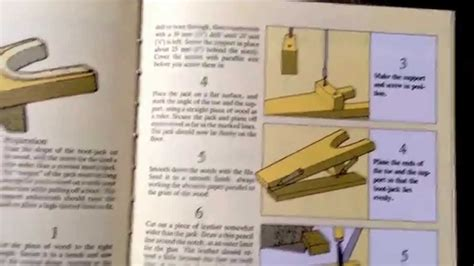 wood projects wood workers manual  boot jack youtube