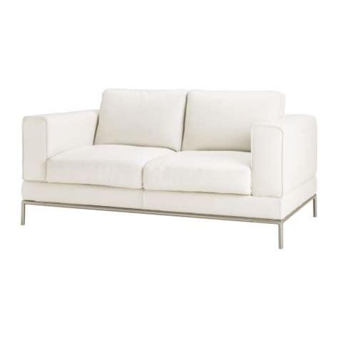 canape ikea cuir arild two seat sofa karaktär bright white ikea