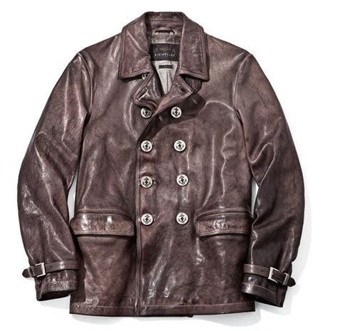 U Boat Jacket by N 176 40 U Boat Leather Jacket In From The Cold