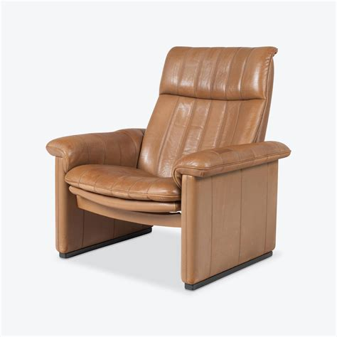 Sede Ds by Ds 50 Armchair By De Sede In Light Neck Leather 1970s