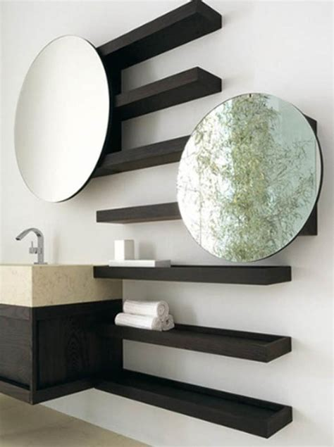 25 cool bathroom mirrors � design swan