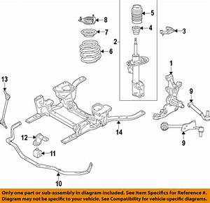 FORD OEM 15-17 Mustang Front-Lower Control Arm FR3Z3079B | eBay