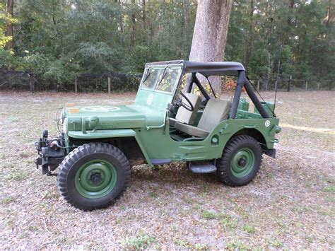 willys jeep off 1945 willys cj2a jeep for sale