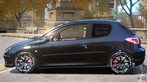 Peugeot 206 Tuning V1 PJ1 for GTA 4