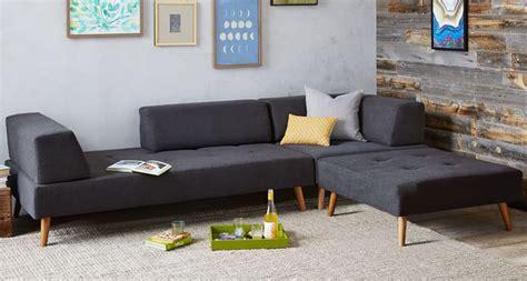 matratze für schlafsofa west retro tillary kleinen modernen sectionals wohnzimmer