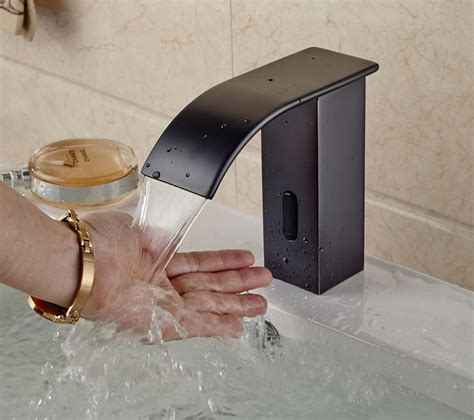 chichester touchless oil rubbed bronze bathroom sink