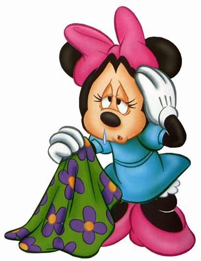 Minnie Clipart Mouse Mickey Disney Tired Headache