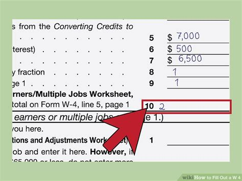 how to fill out w 4 form for dummies how to fill out a w 4 with pictures wikihow