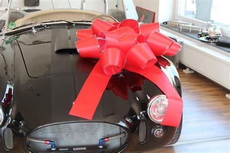 auto zubehör geschenk gro 223 e geschenk schleife f 252 r autos