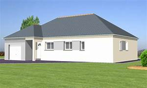tina 100 m2 type f5 catalogue constructeur maison With photo de plan de maison 5 maison traditionnelle construite par guemas constructeur