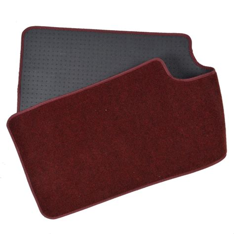 floor mats minivan bdkusa 3 row best quality carpet floor mats for suv van burgundy 4pc ebay