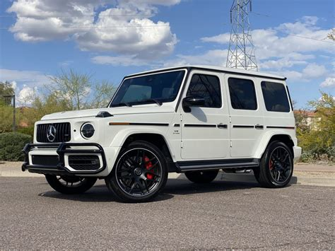 See design, performance and technology features, as well as models, pricing, photos and more. 2020 Mercedes Benz G Wagon G63 One Owner Diamond White Metallic 3900 Miles - Pro Motorsports ...