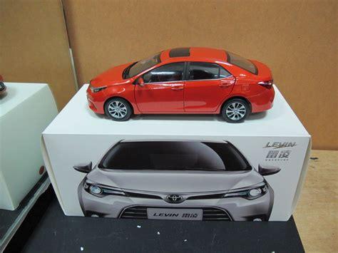 Toyota Gaic Corolla Levin E170 1/18 Model Car Orange Free
