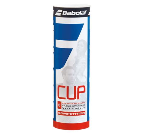 Discover our volant nylon cup, similar trajectory as feather shuttlecocks. Воланы Babolat Volant Nylon Cup