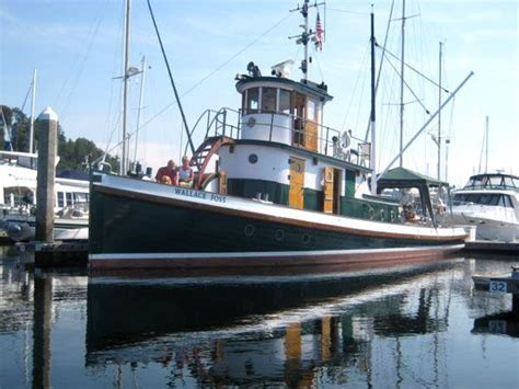 Tugboat For Sale by 1897 Tacoma Tugboat Classic Tug Power Boat For Sale Www
