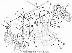 Gravely 991122  050000 -   Pro-turn 148 Parts Diagram For Fuel System - Kohler