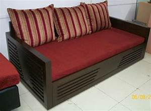 Wooden sofa cum bed developers in mumbai for Wooden sofa come bed design