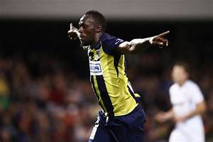 Usain Bolt Scores Two Goals For Central Coast Mariners
