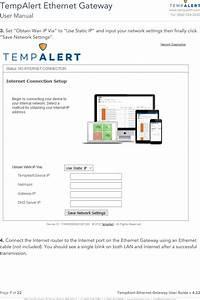 Smartsense By Digi Tmwifi440z Ethernet Gateway User Manual