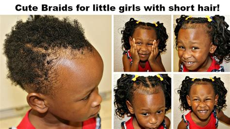 cute braids   girls   short hair