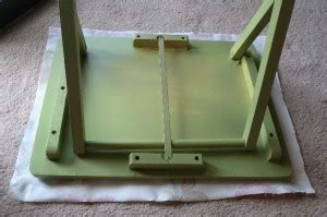 table that turns you upside down table makeover fun with mod podge best fabric store blog