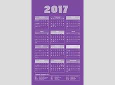 Happy New Year 2017 Calendar – WeNeedFun