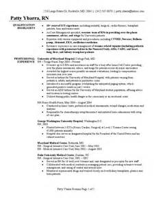 surgical icu resume registered resume sle