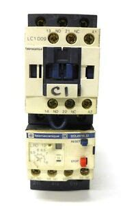 telemecanique lc1 d09 contactor motor starter square d lrd 12 relay