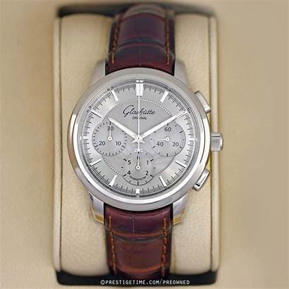 Glashutte Senator Chronograph Pre Watches Owned Certified
