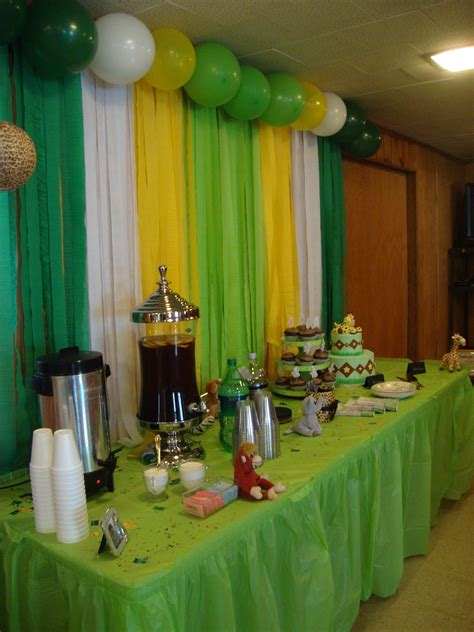 Baby Shower Safari Theme by Safari Theme Baby Shower But In Our Colors Would Be