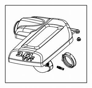 Dodge Grand Caravan Engine Air Intake Resonator Grommet  3