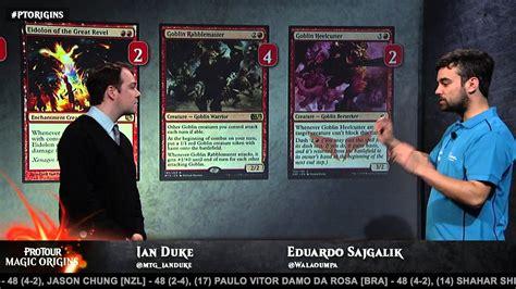 kithkin deck pro tour pro tour magic origins deck tech aggro with eduardo