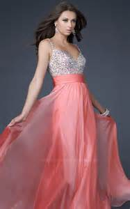 Coral Color Prom Dresses