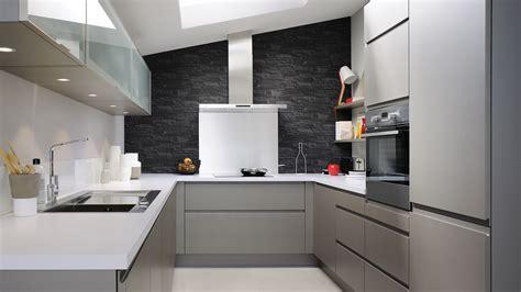 plan de travail cuisine cuisinella cuisine 233 quip 233 e laque style design couleurs sourdes cuisinella