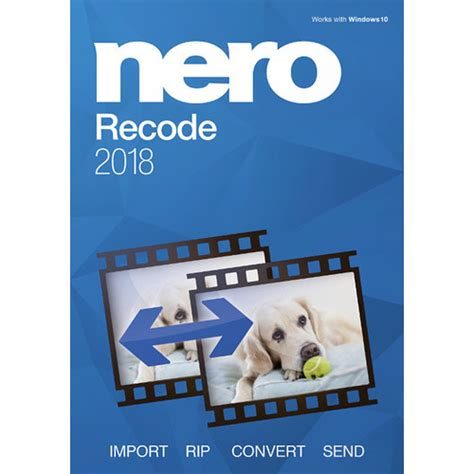 Nero recode 2018 is $4.96 less expensive than an average dvd burning program ($44.95). Nero Recode 2018 (Download) AMER-13580000/649 B&H Photo Video