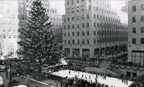 the history of the rockefeller center tree a