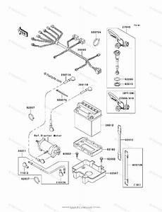 Kawasaki Jet Ski 2001 Oem Parts Diagram For Electrical Equipment