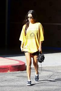 Kourtney Kardashian Street Style - Out in Los Angeles 08 ...