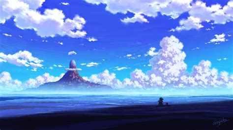 anime scenery sitting 4k hd anime 4k wallpapers images