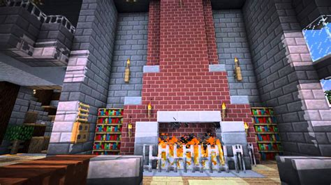 Fireplace Designs Minecraft by Minecraft Furniture Fireplace Designs And Ideas Youtube