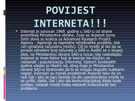Prednosti i mane interneta