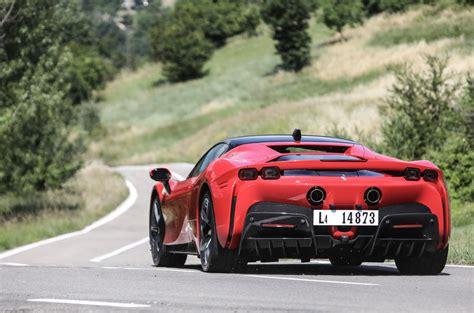 It makes nearly 1,000 horsepower. Ferrari SF90 Stradale Review (2021) | Autocar