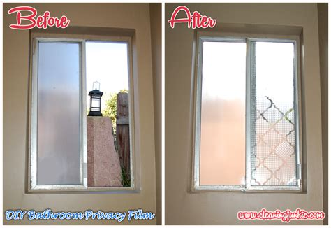 Fenster Sichtschutz Basteln by Diy Home Projects Cleaning Junkie Challenge