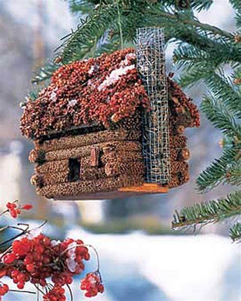bird seed covered bird houses bird cages