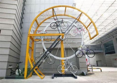funny unusual bike racks designs