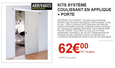 porte coulissante interieur brico depot le nouveau catalogue brico d 233 p 244 t est arriv 233
