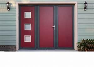 Portes de garage portes a vantaux portails et portes d for Porte de garage basculante pour fabricant porte entree