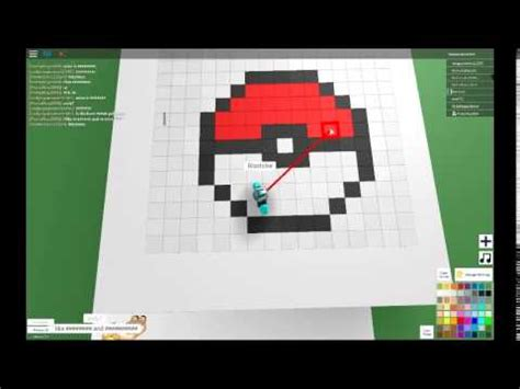 roblox roblox video part  pixel art creator youtube
